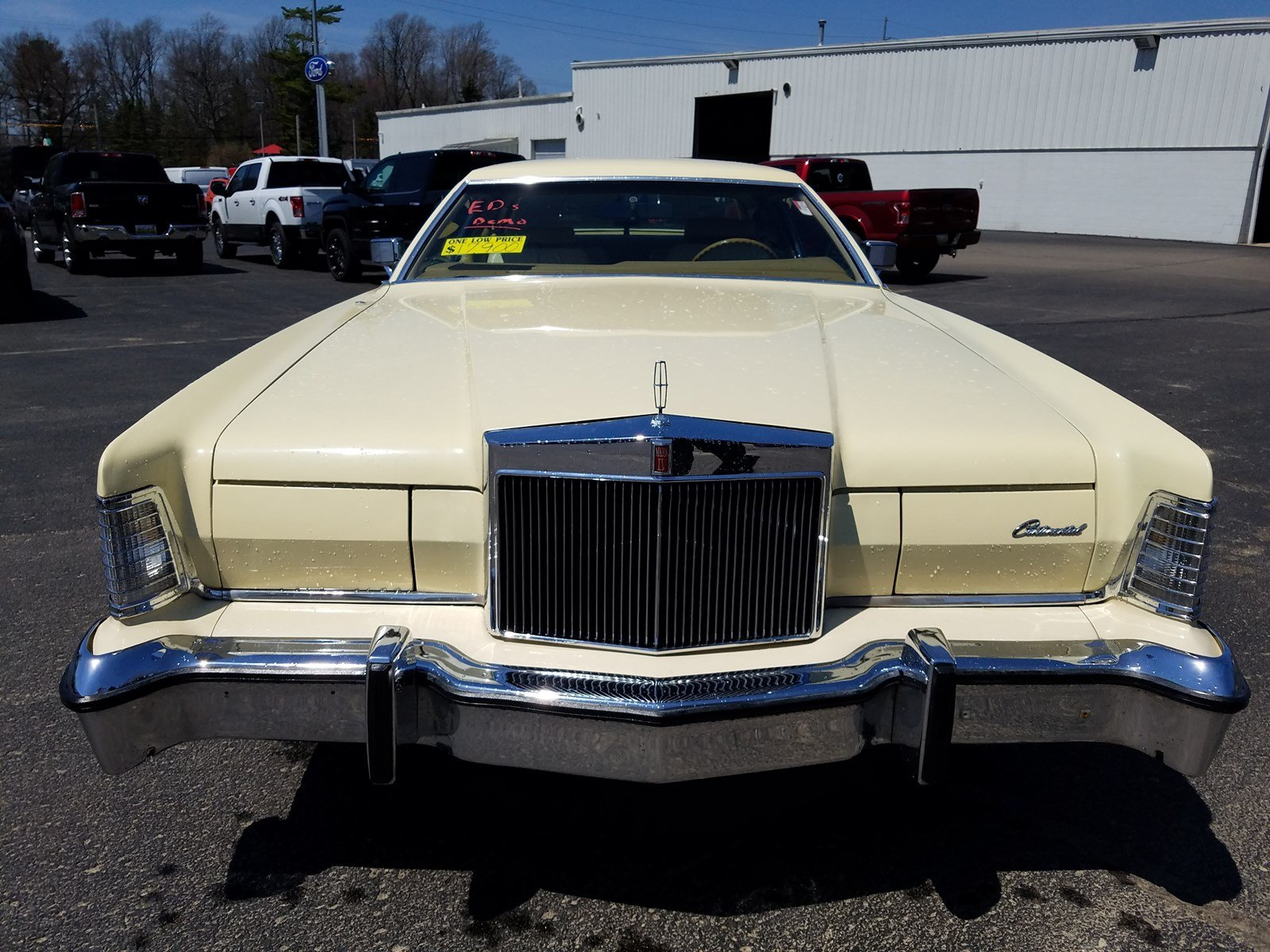 Pre Owned 1976 Lincoln Continental Mark Iv Hardtop Coupe In Bridgman