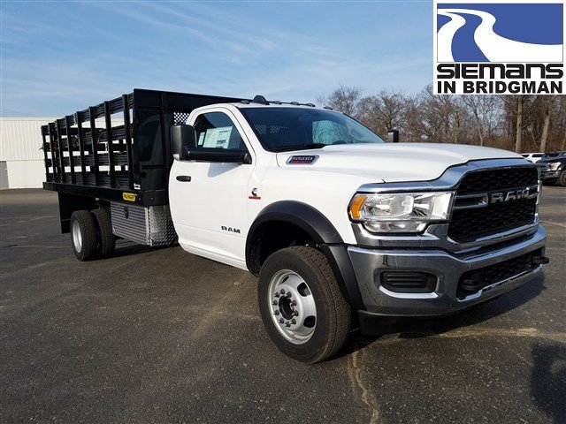 New 2019 RAM 5500 Chassis Cab Tradesman 16' Stake Body