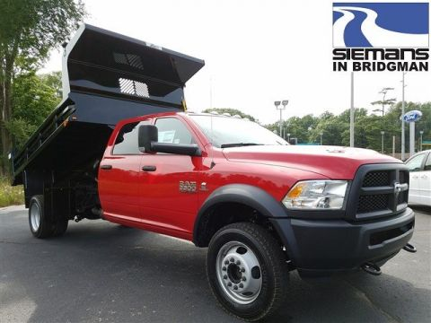 New 2017 RAM 5500 Chassis Cab Tradesman 11' Dump Body